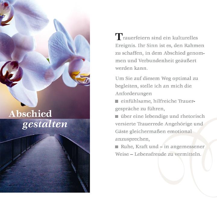 Trauerrednerin Beatrix Hahn - 1 - Abschied gestalten
